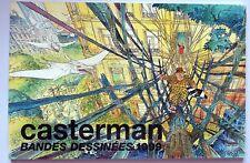 Catalogue BD Casterman 1999 Tintin Hergé Bourgeon Prado Tardi Hugo Pratt Yakari