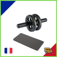 Fitness Ab Roller Roue Abdominale Exercice Abdominaux Tapis Compact Et Robuste *