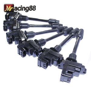 Set Ignition Coils for 95-99 Nissan Maxima SE/GXE/GLE Sedan 4D 3.0L 22448-31U01