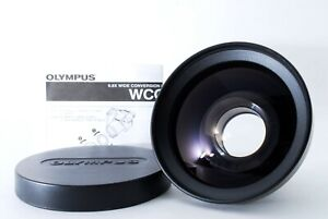 """""""Mint"""" Olympus Wcon-08 0.8x Wide Conversion Lens 43-55mm 41-43 From Japan"""