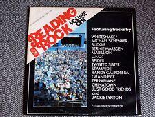 READING ROCK' 82 Volume 1 (Whitesnake / Michael Schenker / Marillion) - LP / 33T