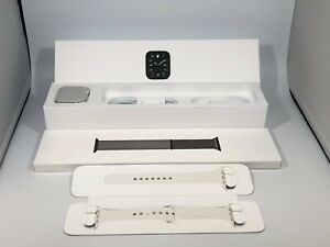 Apple Watch Edition Series 5 Cellular White Ceramic 44mm w/ 2 OEM Bands 9/10