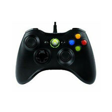 Official Microsoft Xbox 360 Wired Controller for PC Windows (Black)