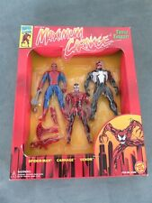 Maximum Carnage Triple Threat, Venom, Carnage, Spider-Man Marvel Comics Toy-biz