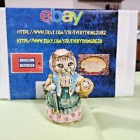 Vintage Beatrix Potter Gold Ovan Figurine Cousin Ribby Beswick England