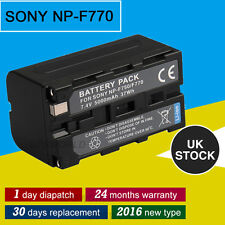5000mAh Battery for sony NP-F770 NP-F750 fit LED video light CN-160 5010 5012 UK