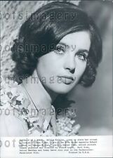 Pretty Actress Millie Perkins in Ensign Pulver Press Photo