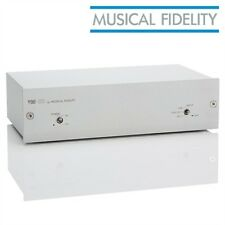 Musical Fidelity v90-dac D/A converter Digital Analog Converter DAC 32 bit silver