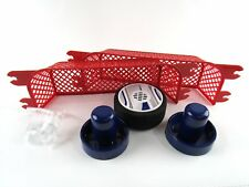 Portable Table Top Air Hockey Game Set with Paddles Goal Posts Puck 2 Players