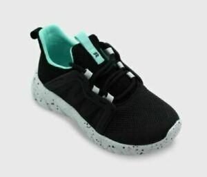 Kids' Drive Veil Apparel Sneakers Black/Aqua - All in Motion Size 4*