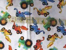 Baby boy juvenile cotton fabric Dump Truck BTHY Timeless Treasures half yard
