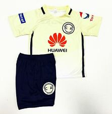Las Aguilas Del AmericaJersey Outfit Size0,1,2,4,6,8,10,12,14Baby,Toddler &Youth