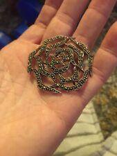 vintage 925 silver brooch