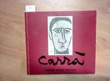 CARLO CARRA' GRAPHIC WORKS 1907 - 1965 SINGAPORE 1991 (1561) CATALOGO MOSTRA