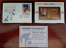 1995 SSCA Nolan Ryan Ryan's Express 23K Gold Stamp - LIMITED EDITION #2935 w COA