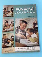 1960 February FARM JOURNAL magazine Central Edition