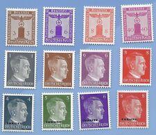 Nazi Germany Third Reich Nazi Swastika Eagle Hitler Stamp lot MNH WW2 Era #31