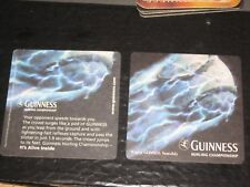 x. IE...GUINNESS    beer coaster   nr246