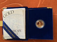 1995  W- Uncirculated One-tenth Ounce, FIVE Dollar Gold Coin Very Sharp!