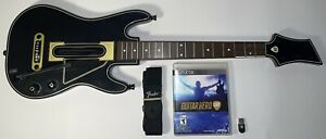 Guitar Hero Live Wireless Guitar Controller For PS3 With Strap, Dongle & Game