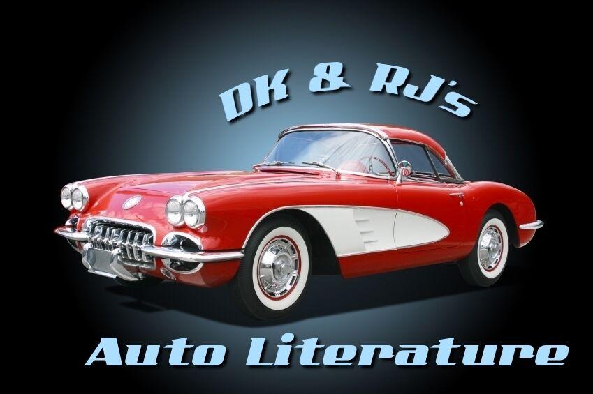 DK and RJ's Auto Literature