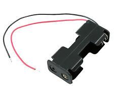 Aa X 2 lado abierto sostenedor de batería Funda Caja 15cm Cables