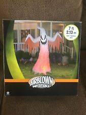 New Halloween 7' Kaleidoscope Ghost Lighted Airblown/Inflatable Yard Decoration
