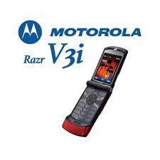 Phone Mobile Phone Motorola Razr V3i Red Gsm Camera Grade A