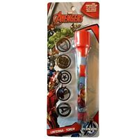 Marvel Avengers Torch with 5 Projector Discs - Great value, sent fast!