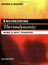 Engineering Thermodynamics: Work and Heat Transfer by Yon Mayhew Paperback Book