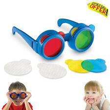 Sensory Educational Toy Child Size Glasses Mixing Colour Learning Visual Toy Sen