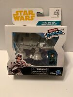 Star Wars Micro Force Vehicle - AT-AT Commander with AT-AT NEW IN HAND HTF 2017