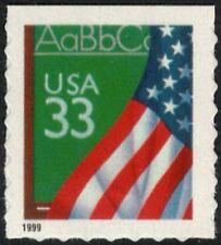 USA Sc. 3283 33c Flag & Chalkboard 1999 MNH bklt. single