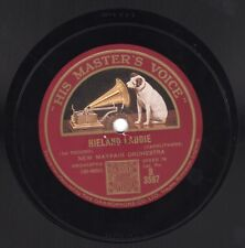"10"" 78 New Mayfair Orchestra ""Hieland Laddie"" arr Caruthers HMV B 3597 Ray Noble"