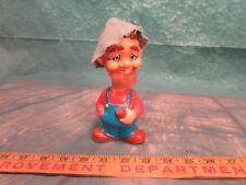 Vintage Wind-up Hillbilly toy with a stretching neck working