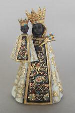 Schwarze Madonna, Mutter Gottes ca. 9 cm hoch, Polystone Heiligenfigur Wallfahrt
