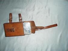 Antico Inglese Caccia Contenitore portapanino & Custodia in pelle (William