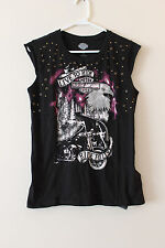 New Harley-Davidson women Live to Ride Eyelet Muscle Tee top size XXL