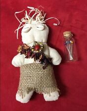 Doll Voodoo Woman + Pins + Box  - Muñeco Vudu - Fetiche - Santeria
