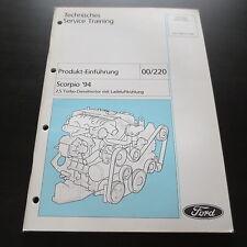 Technische Information Ford Scorpio 2,5 Turbodiesel Motor SCB m. Ladeluftkühlung
