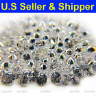 ROUND CUBIC ZIRCONIA CZ LOOSE STONES 1000 PCS START 0.7 MM 5A QUALITY SHIP IN US