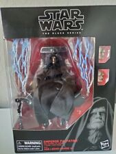 Star Wars Black Series Emperor Palpatine with Throne . Opened. Mint Cond??