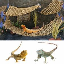 Durable Reptile Platform Lizard Net Hanging Bed Habitat Gecko Lounger Decoration
