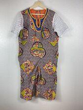 Handmaid African Ghanaian Ethnic Clothing Outfit  Ghana Romper Jumper Beaded