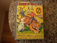Hidden Valley of Oz by Rachel R. Cosgrove (L. Frank Baum). First edition 1951