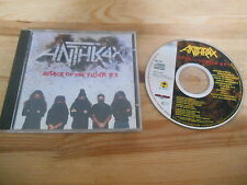 CD metal Anthrax-Attack o/t Killer B 's (12) canzone Island Megaforce