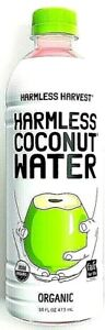 Harmless Harvest Organic Coconut Water 16 oz ( Pack of 6 )