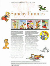 #856 44c Sunday Funnies #4467-4471 USPS Commemorative Stamp Panel