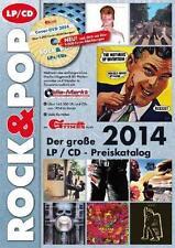 Der große Rock & Pop LP / CD Preiskatalog 2014 von Martin Reichold (2013, Taschenbuch)