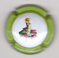 capsule de champagne générique MODE, contour vert